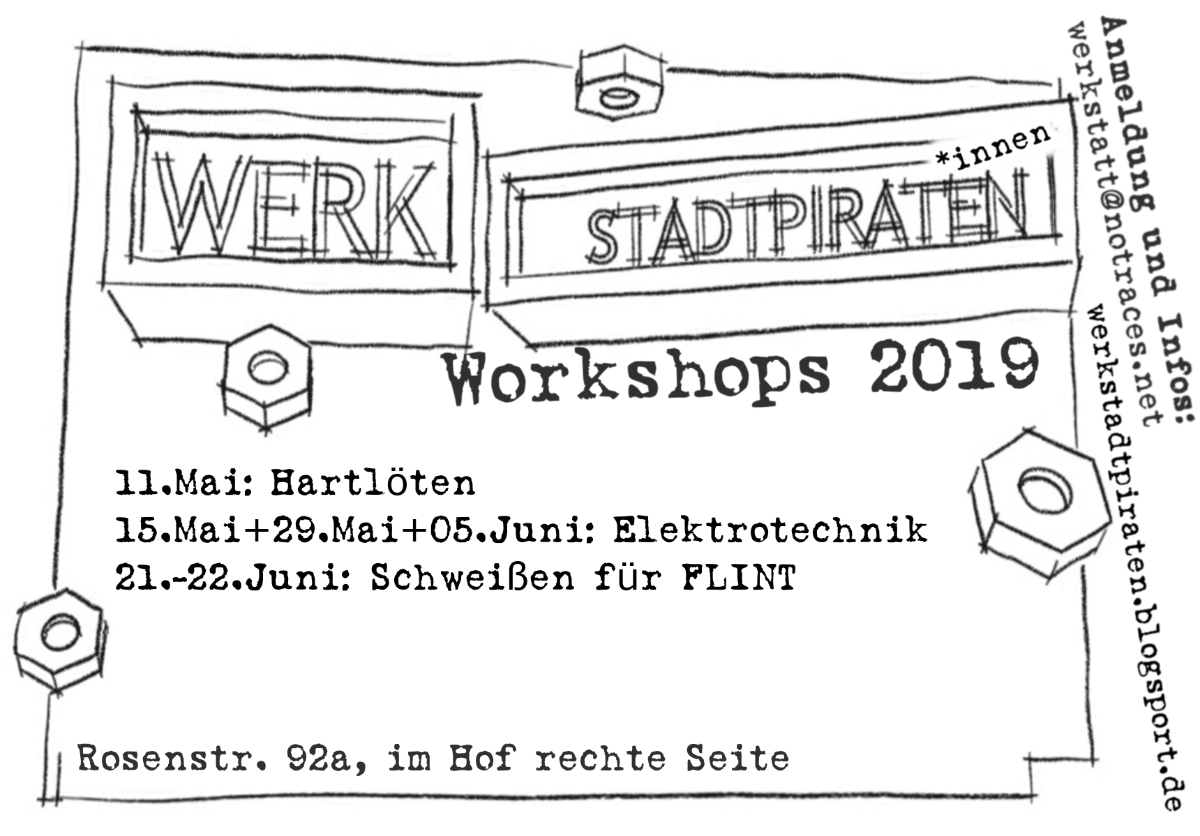 Flyer Workshopreihe